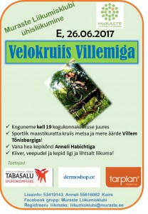 Velokruiis Villemiga 26.06.17